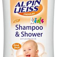 Children's Hair Shampoo + Shower Gel  Alpinweiss Papaya Mango 400 ml